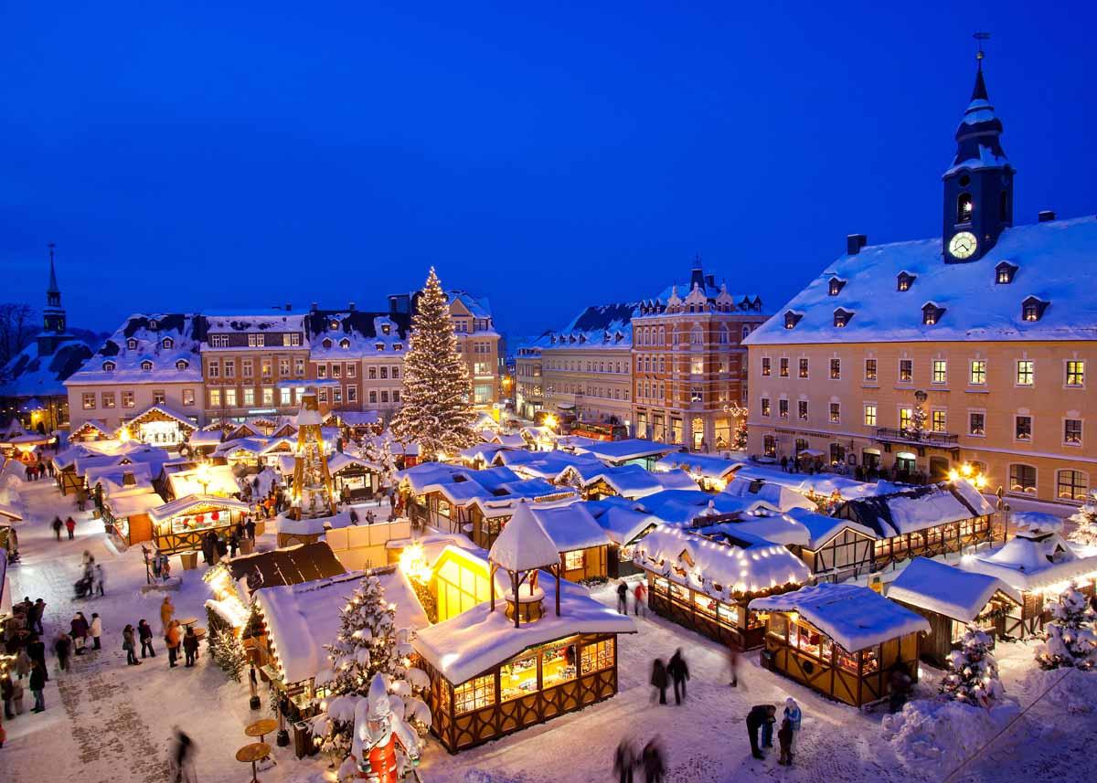 Weihnachtsmarkt W.Tradycja Ta Wywodzi Się Już Z Xiii Wiecznej Austrii Pierwszy