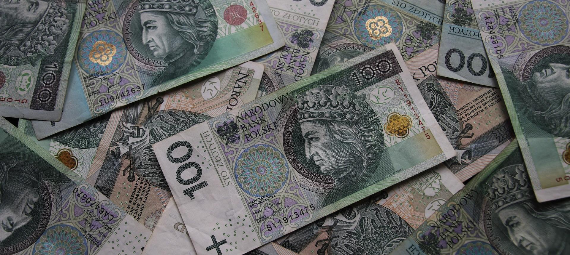 Banknoty 100 PLN