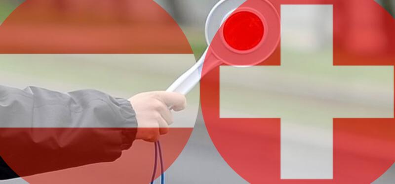 Mandaty drogowe w Austrii i Szwajcarii