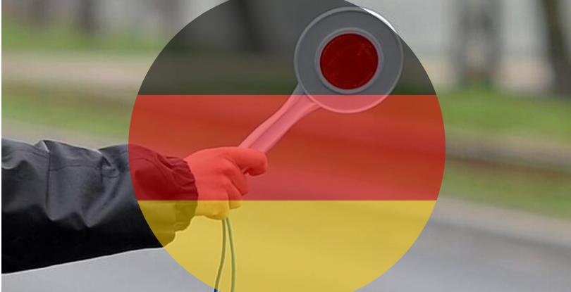 Kontrola drogowa w Niemczech