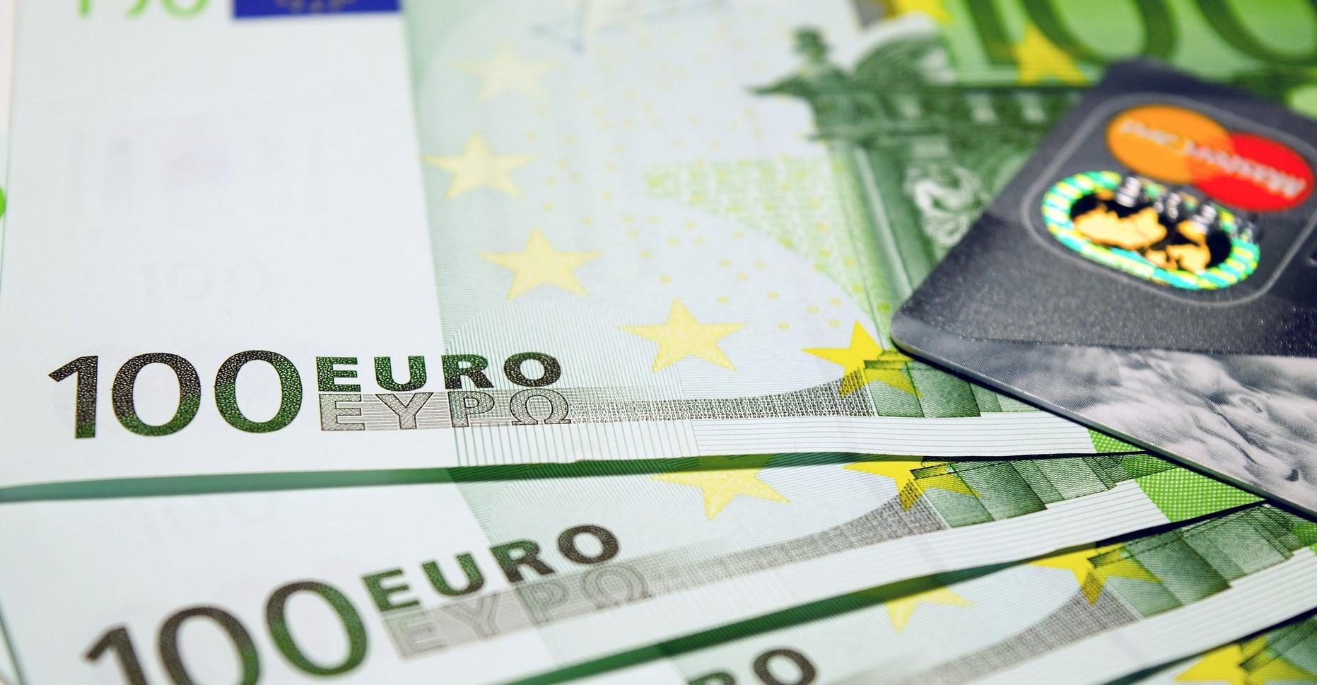 Euro w gotówce